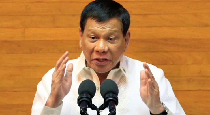 الرئيس الفلبيني رودريغو دوتيرتي - ارشيفية