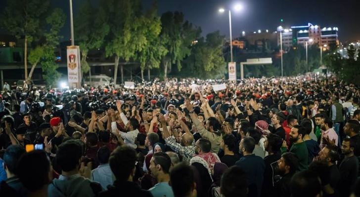 صورة ارشيفية لاعتصام الرابع