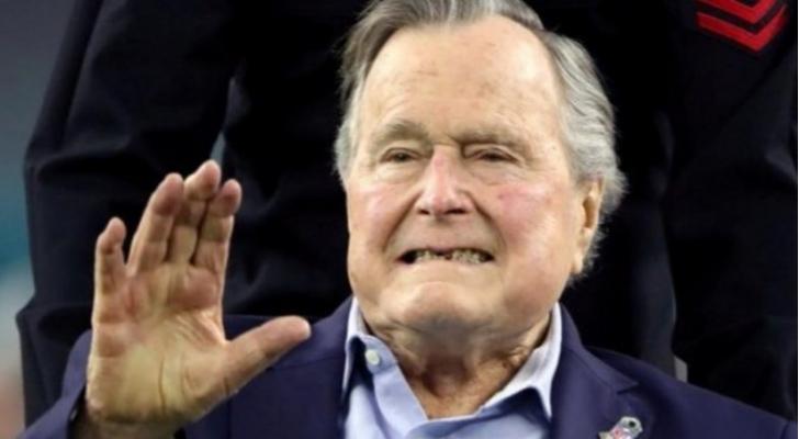 الرئيس الامريكي السابق جورج بوش (الاب) - ارشيفية