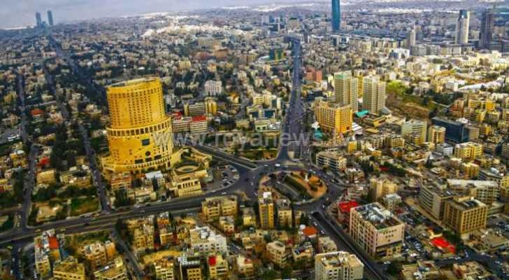 صورة عامة للعاصمة عمان - ارشيفية