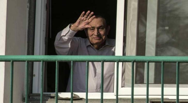 الرئيس المصري المخلوع محمد حسني مبارك