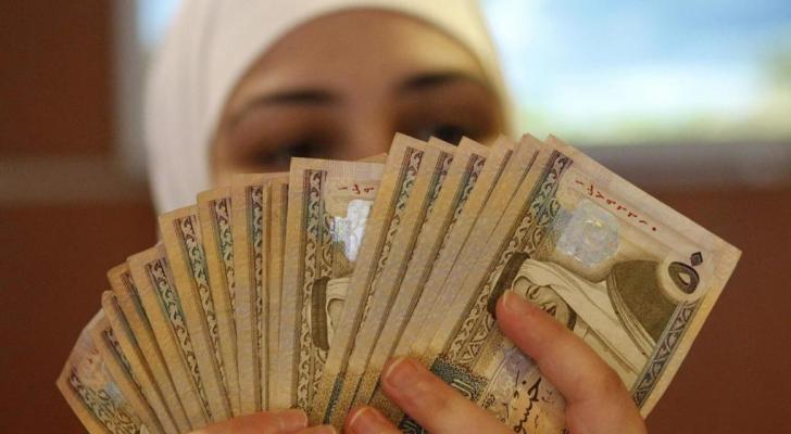 عملة اردنية - ارشيفية