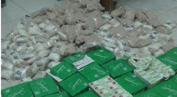 مكافحة المخدرات والأمن العسكري يضبطون 446 ألف حبة مخدرة شمال المملكة