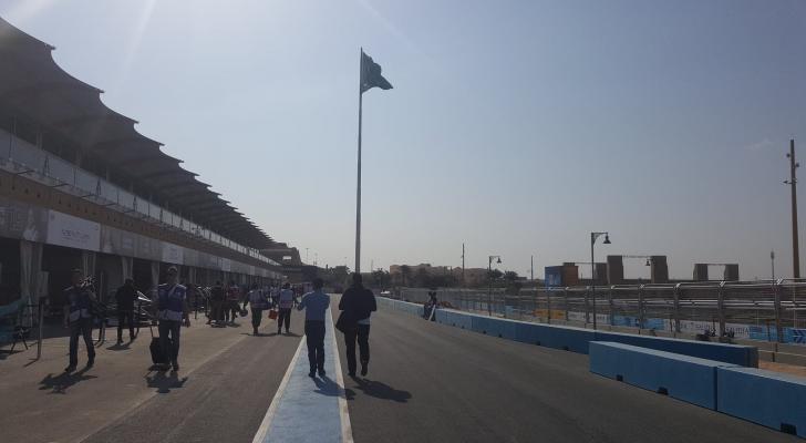 """صورة من موقع سباقات """"فورمولا إي"""""""