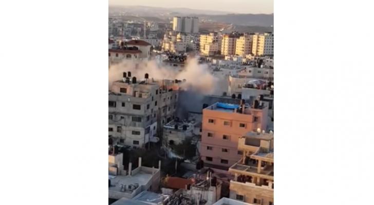 الاحتلال يفجر منزل عائلة ابوحميد في الضفة الغربية