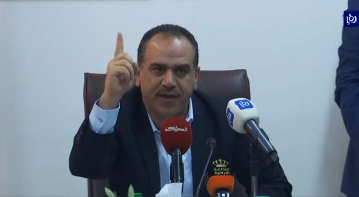 وزير الزراعة ووزير البيئة المهندس إبراهيم الشحاحدة