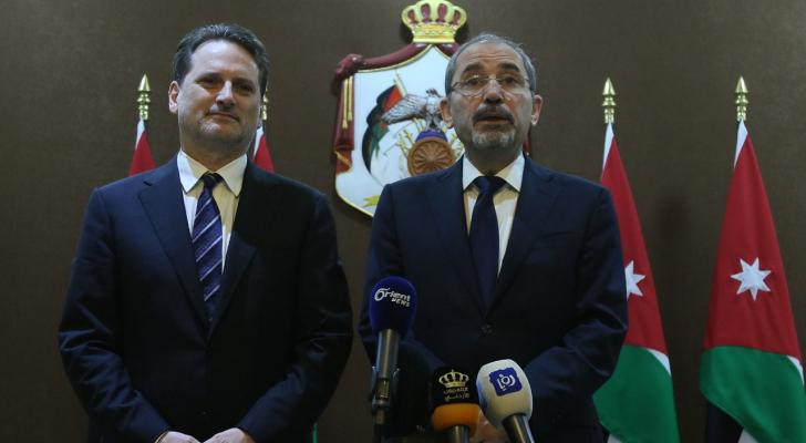 الصفدي والمفوض العام لوكالة الاونروا