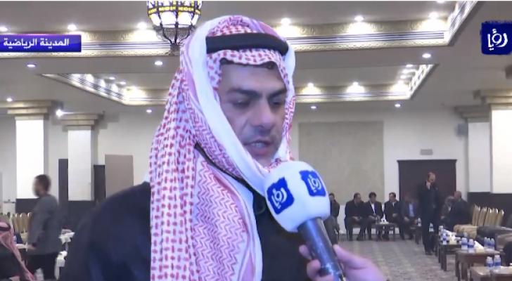ثامر العدوان مدير النادي الفيصلي