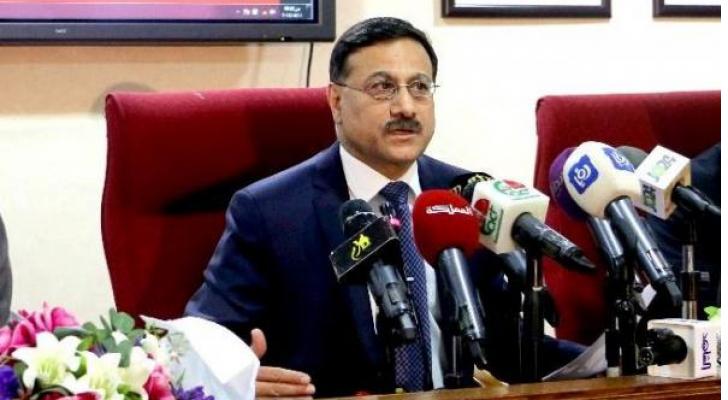 وزير المالية الدكتور عز الدين كناكرية - ارشفية