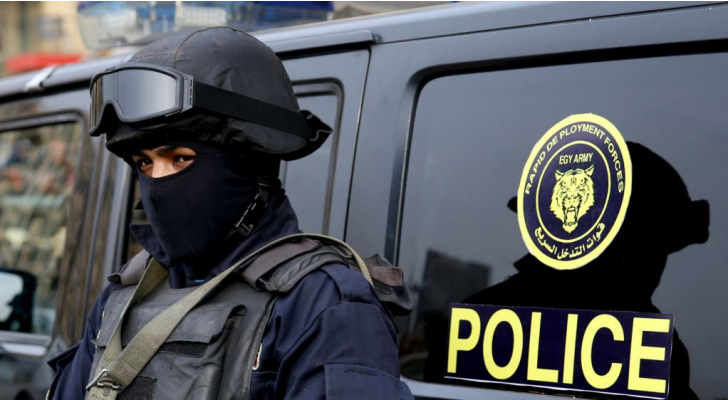 الشرطة المصرية - ا ف ب