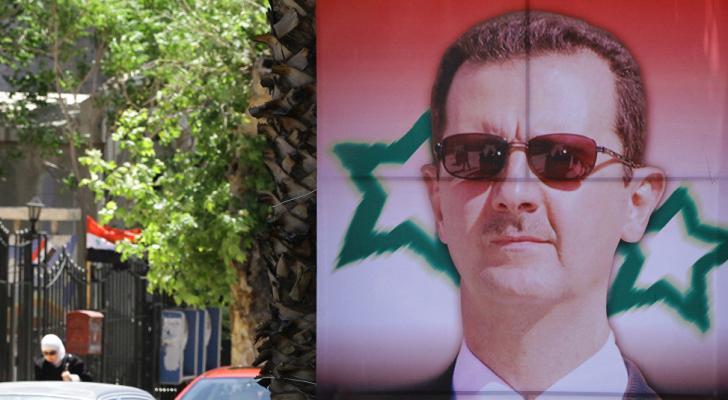 وثق المقطع أيضا الزيارة التي أداها الرئيس السوداني عمر البشير إلى سوريا