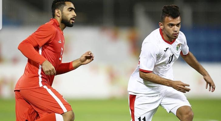 التعادل يحسم ودية المنتخب الاولمبي ونظيره البحريني