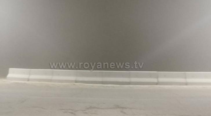 ضباب في منطقة الرشادية - تصوير عبدالمهدي العواجين