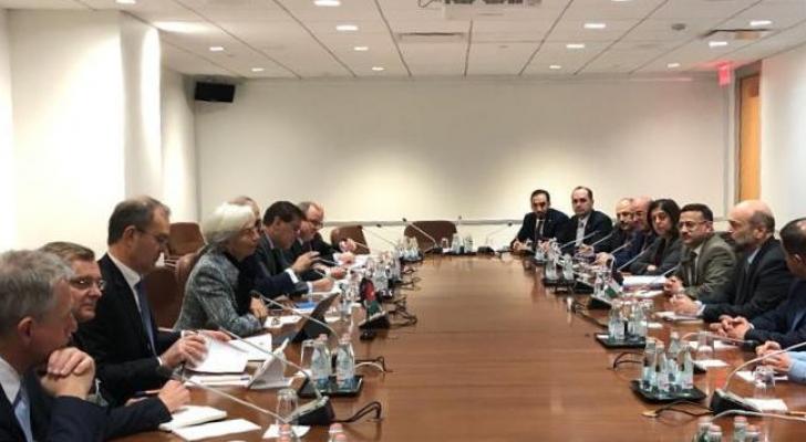 رئيس الوزراء يلتقي مدير عام صندوق النقد الدولي