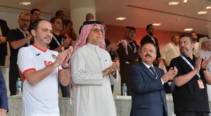 الامير علي خلال مباراة سوريا
