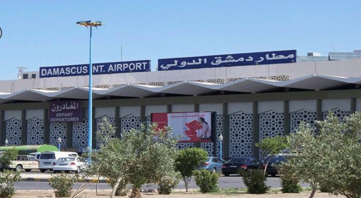 مطار دمشق الدولي