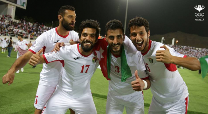 المدرب قال إن هذه المباراة لها طعم خاص كونها تجمع الشقيقين الاردني والفلسطيني