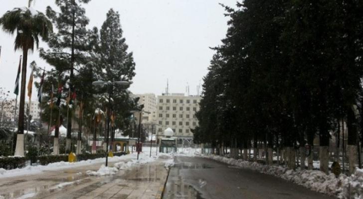 ارشيفية من العاصمة عمان