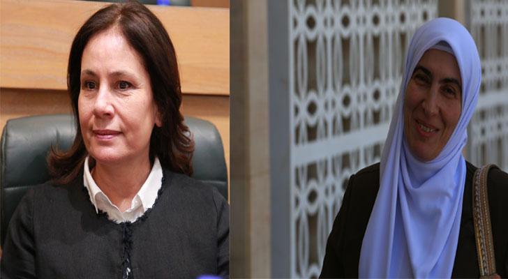 النائب ديما طهبوب ووزير الطاقة هالة زواتي
