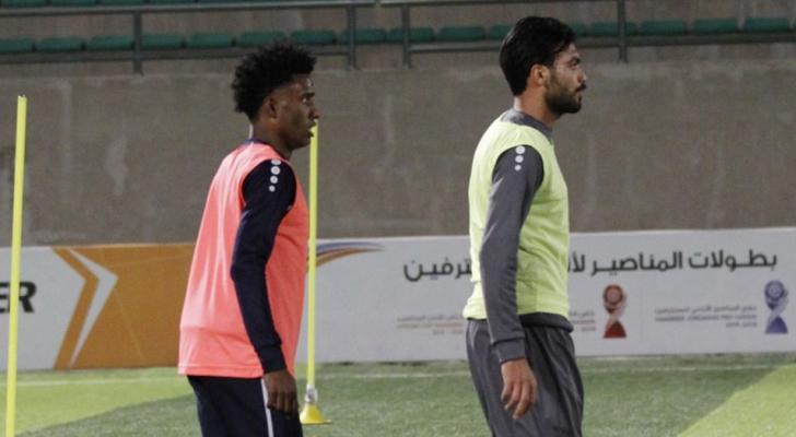التونسي سامي الهمامي و البرازيلي جونيور  يشاركان في تدريبات
