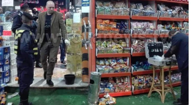 """مجهولون يطلقون النار على أحد """"المحامص"""" في اربد"""