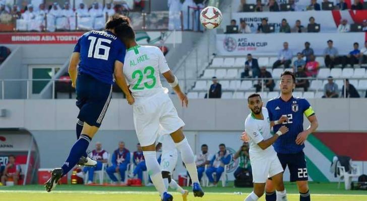 السعودية تودع أمم اسيا أمام اليابان