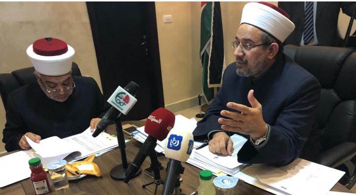 رئيس مجلس ادارة صندوق الزكاة وزير الاوقاف والشؤون والمقدسات الاسلامية د. عبدالناصر ابو البصل