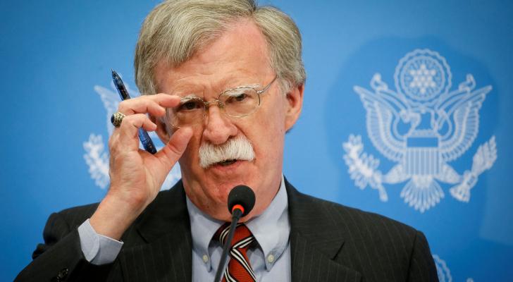 مستشار الأمن القومي جون بولتون