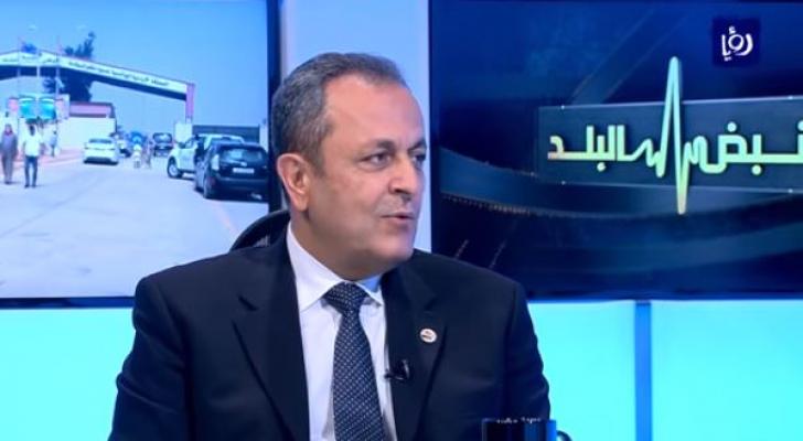 القائم بأعمال السفارة السورية في عمّان الدكتور أيمن علوش