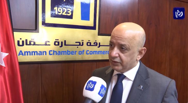 رئيسُ غرفةِ تجارة عمان خليل الحاج توفيق