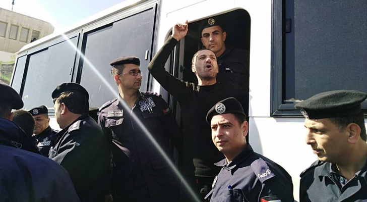 صورة من عمليات الإفراج اليوم