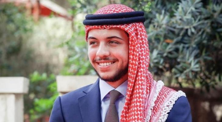 سمو الأمير الحسين بن عبدالله الثاني، ولي العهد،