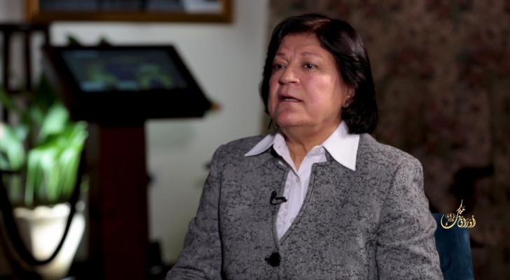الأمين العام لحزب الشعب الديمقراطي الأردني والنائب الأسبق عبلة ابو علبة