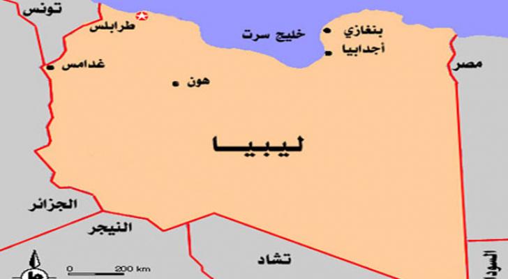 خارطة ليبيا
