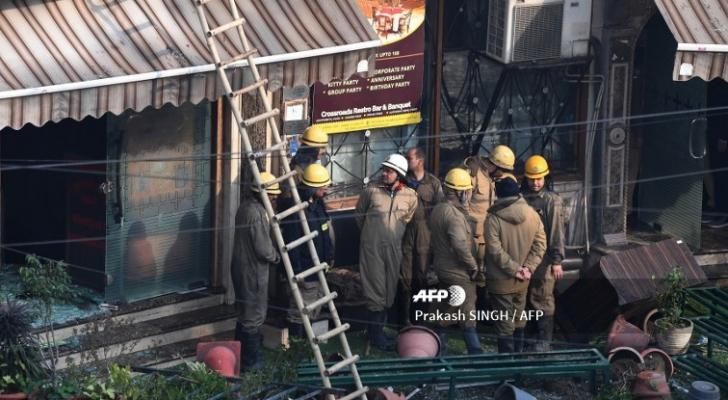 حريق فندق في الهند