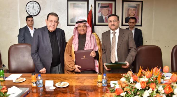"""الأردن توقع اتفاقية قرض مع """"النقد العربي"""" بقيمة 23 مليون دينار"""