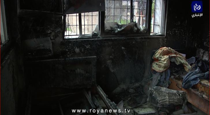 أضرار مادية بمستشفى الإيمان الحكومي بعجلون