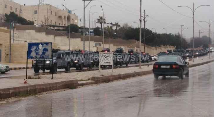 تعزيزات امنية في محافظة عجلون