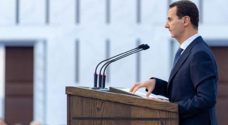 عتبر الأسد أن موضوع اللاجئين كان مصدراً للفساد