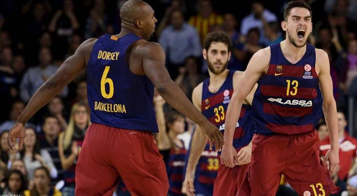 برشلونة يهزم ريال مدريد بكرة السلة في نهائي الكأس