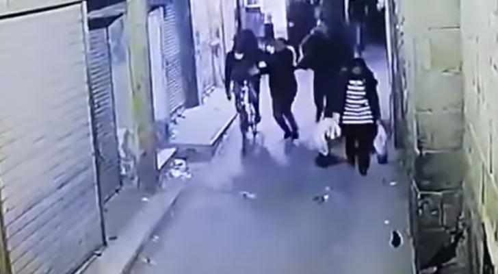 لحظة تفجير الإرهابي نفسه
