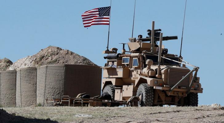 قوات امركية في سوريا
