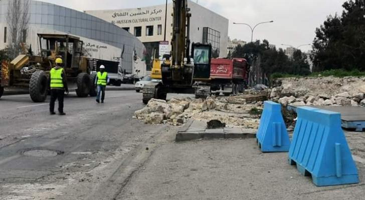 اغلاقات وتحويلات مرورية في عمان
