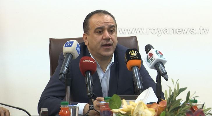 وزير الزراعة المهندس ابراهيم الشحاحدة