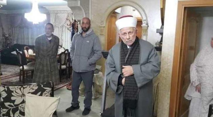 الشيخ عبدالعظيم سلهب خلال اعتقاله