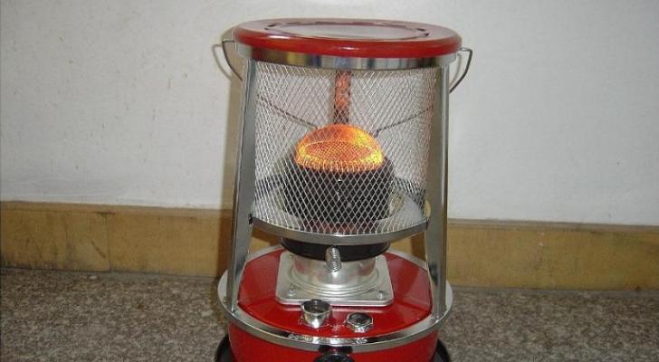 مدفأة كاز
