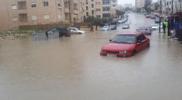 تجمع اليماه في إحدى مناطق العاصمة عمان
