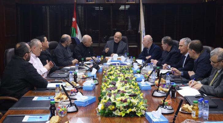 مجلس إدارة غرفة تجارة عمان