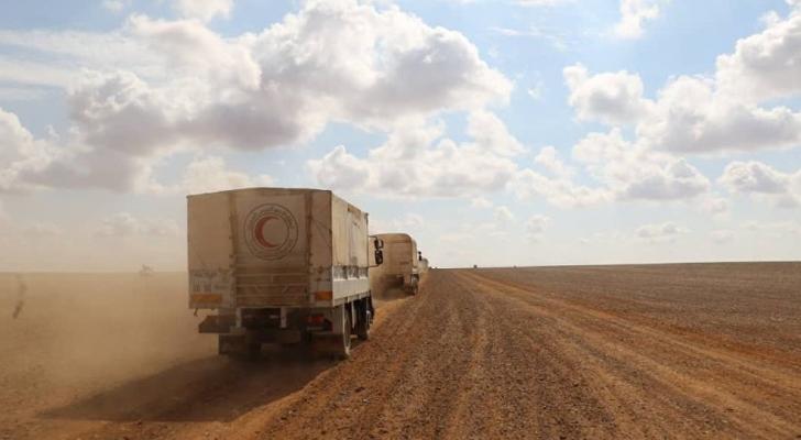 روسيا: رفض أمريكي لدخول قوافل لنقل السوريين من مخيم الركبان