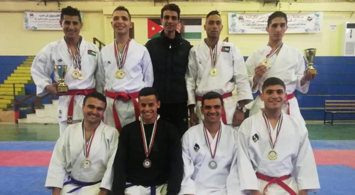 الدفاع المدني يحصد 6 ميداليات ملونة في بطولة المملكة المفتوحة للكاراتيه